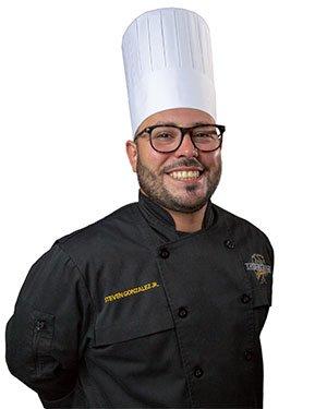 Steven Gonzalez Jr., Chef