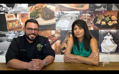 Sarina Fazan and Steven Gonzalez Jr