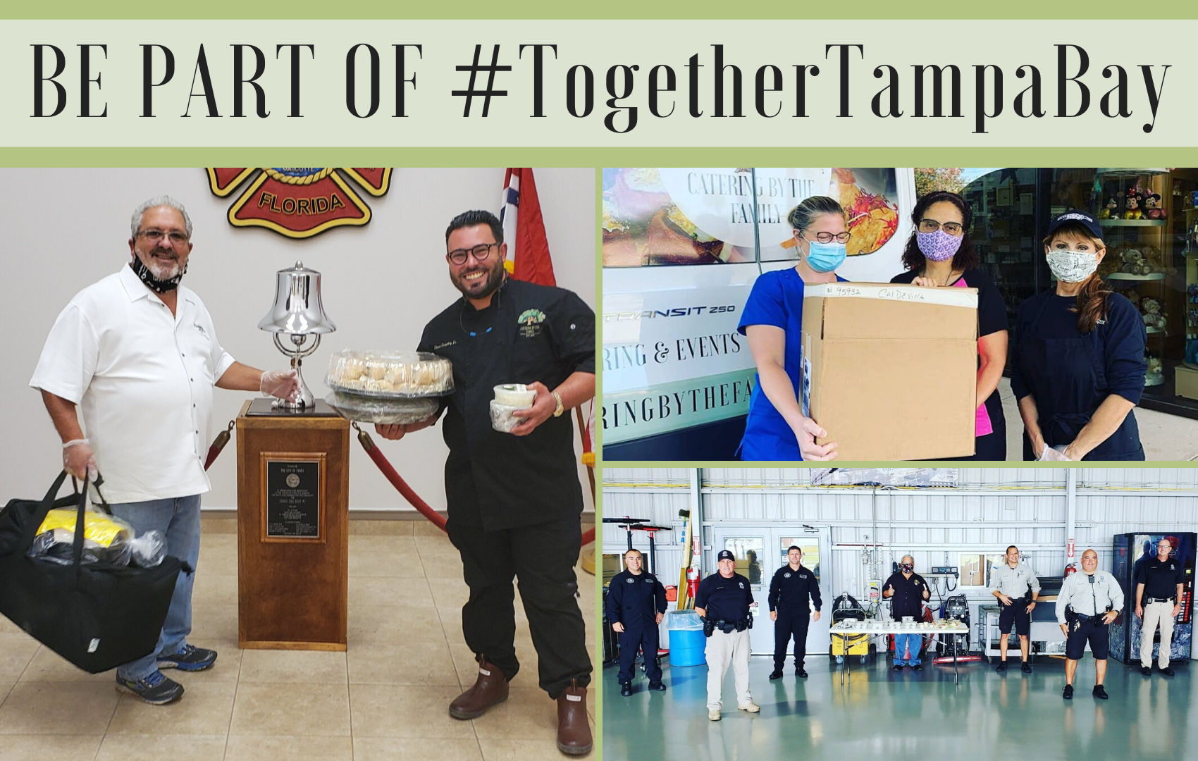 Be Part of #TogetherTampaBay